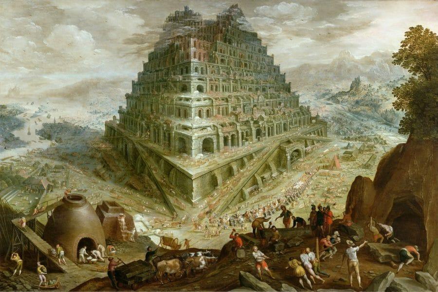 Babels torn (från Wikimedia)