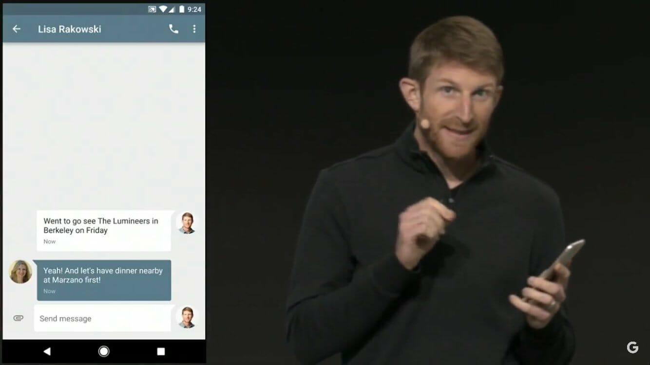 Googles AI misslyckas på scen, oktober 2016