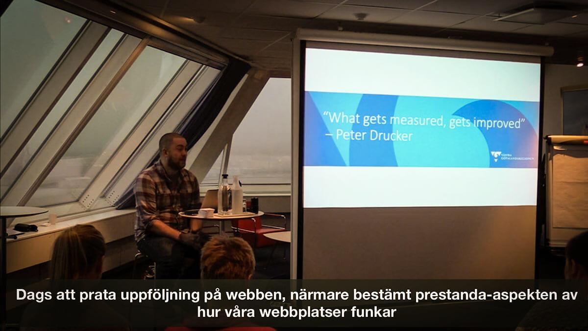 Marcus Österberg föreläser om webbprestanda