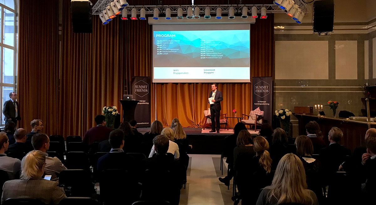 Konferensen RPA & AI arrangeras av Summit & Friends
