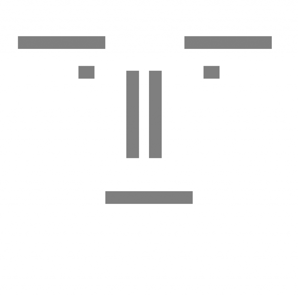 Fig. 14: Template for what a face looks like.