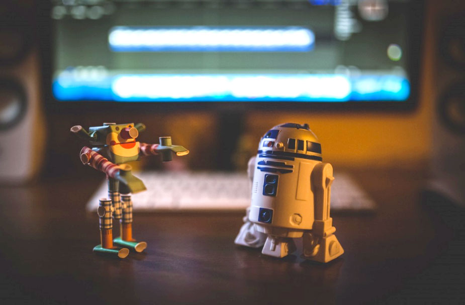 Robotar (r2d2 bland annat)